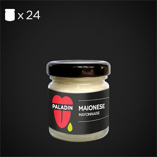 MAIONESE VIDRO 24X35ml