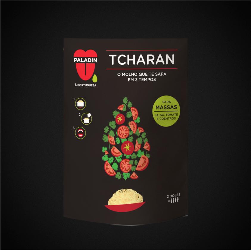 TCHARAN PARA MASSAS - MOLHO SALSA TOMATE E COENTROS  2X40g