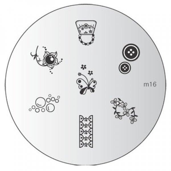 Placa Konad M016