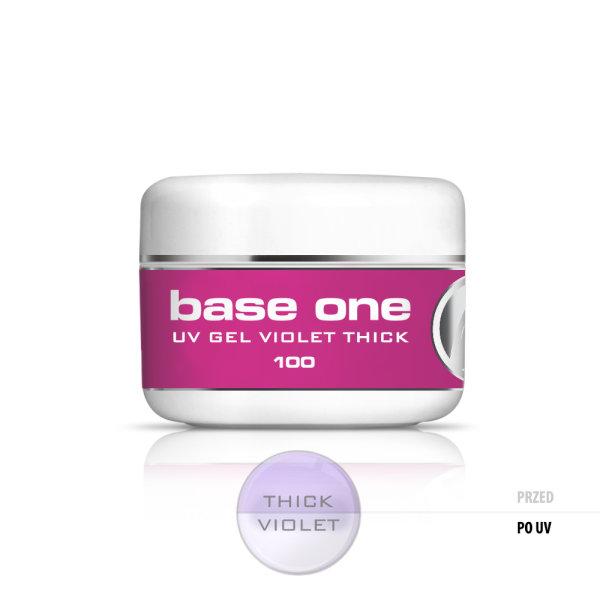 Gel Base One Thick Violet 100gr