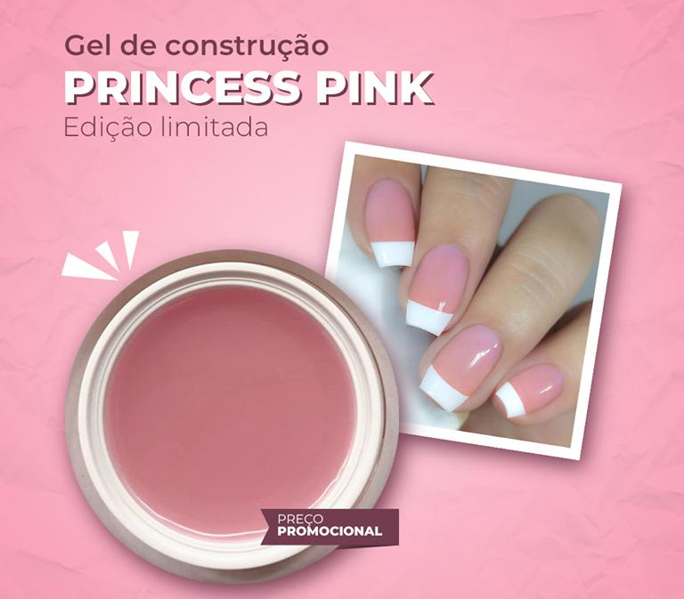 """Gel de Construção """"Princess Pink"""" - Edição Limitada"""