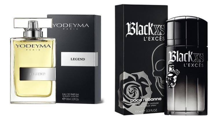 Perfume Legend (equiv. Black XS - Paco Rabanne)