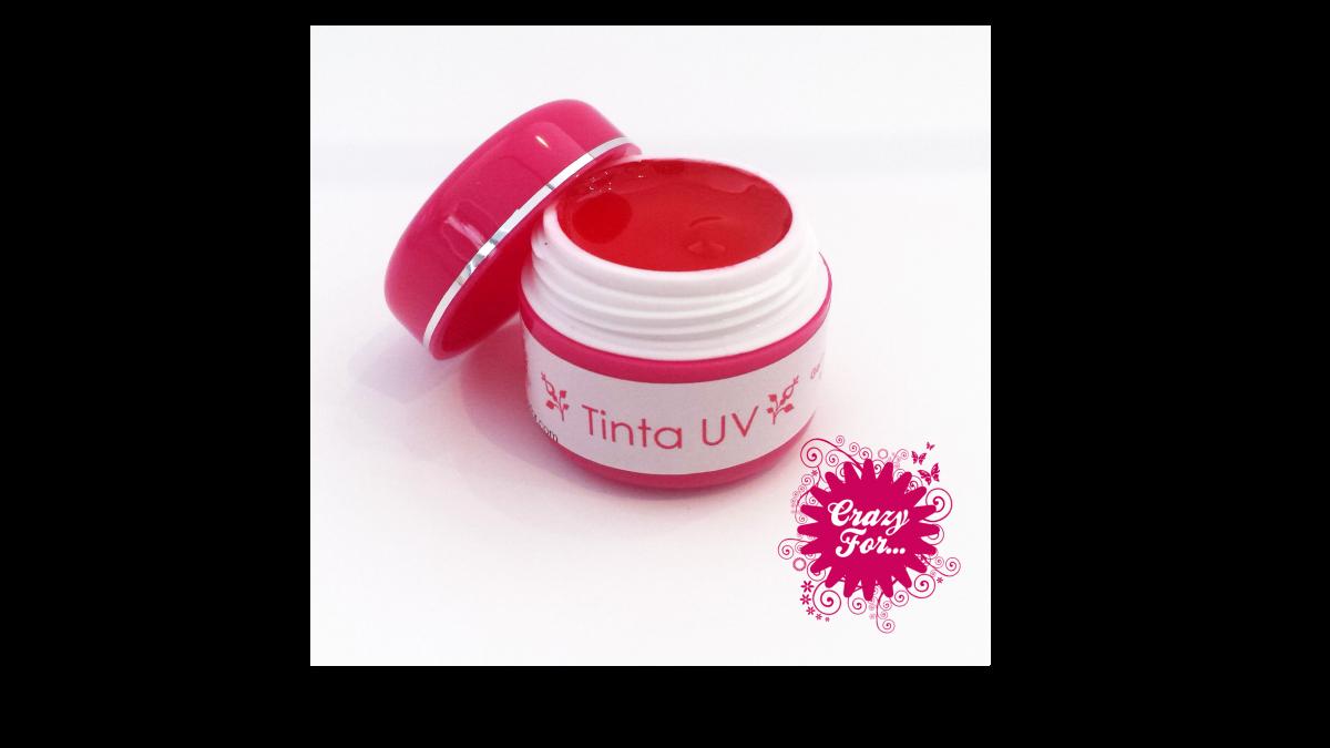 Tinta UV nº05 - Vermelho