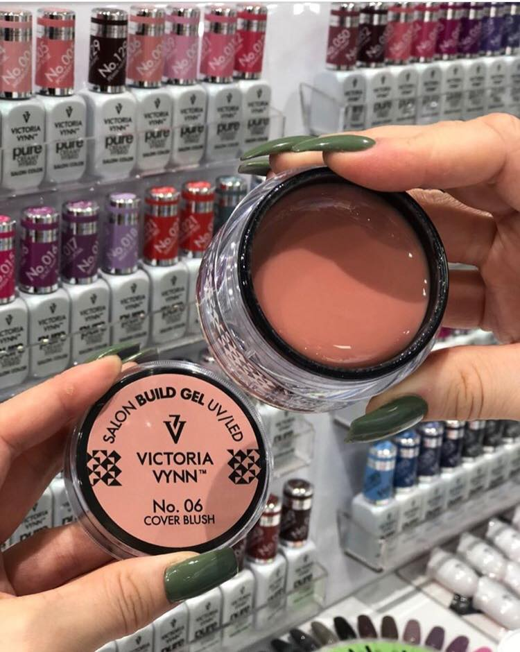 Gel de Construção Victoria Vynn n.º06 - Cover Blush