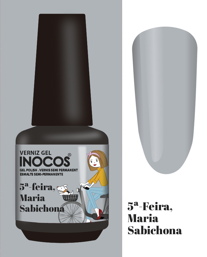 Verniz Gel Inocos - 5ª Feira - Maria Sabichona (164)