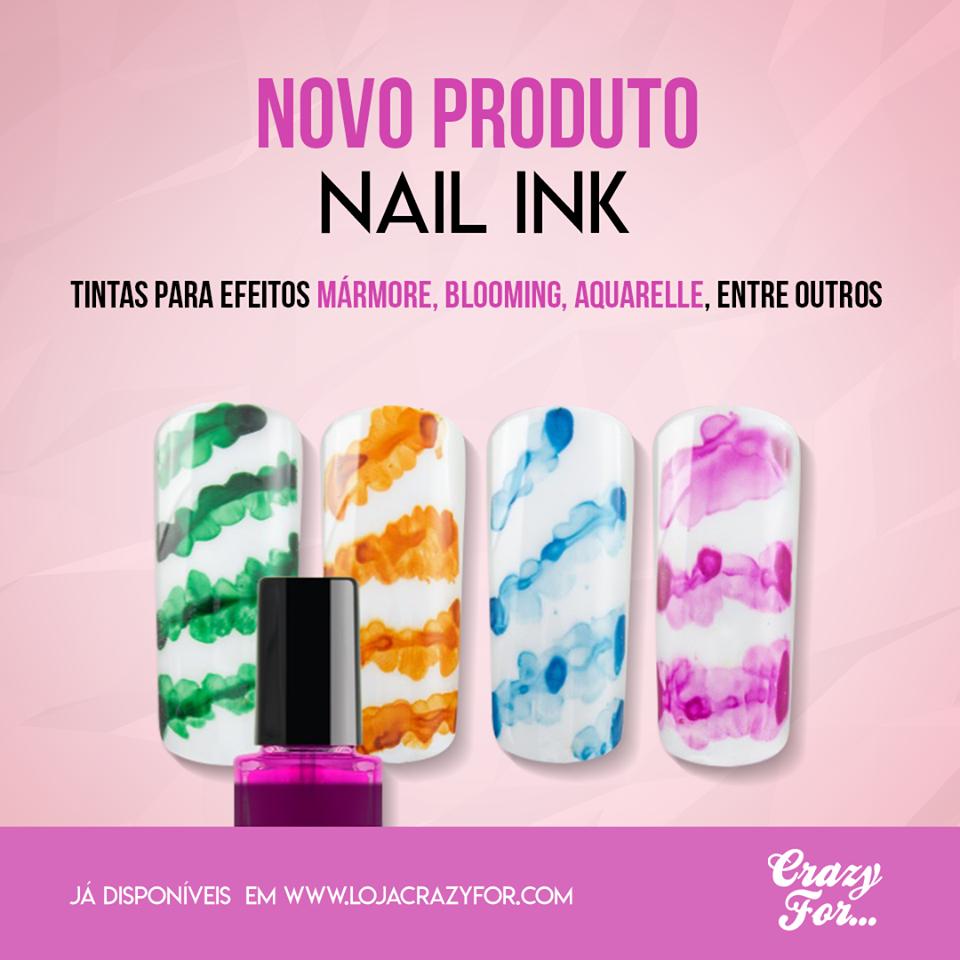 Pack 5 Nail Ink