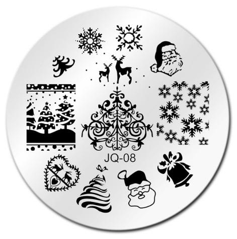 Placa de Carimbo Christmas 5