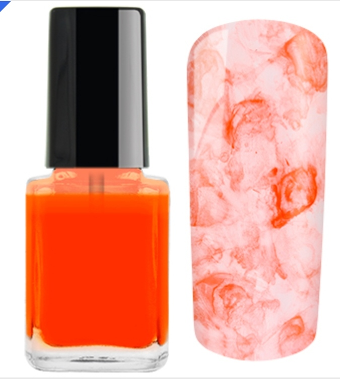 Nail Ink Crazy For... Laranja Neon