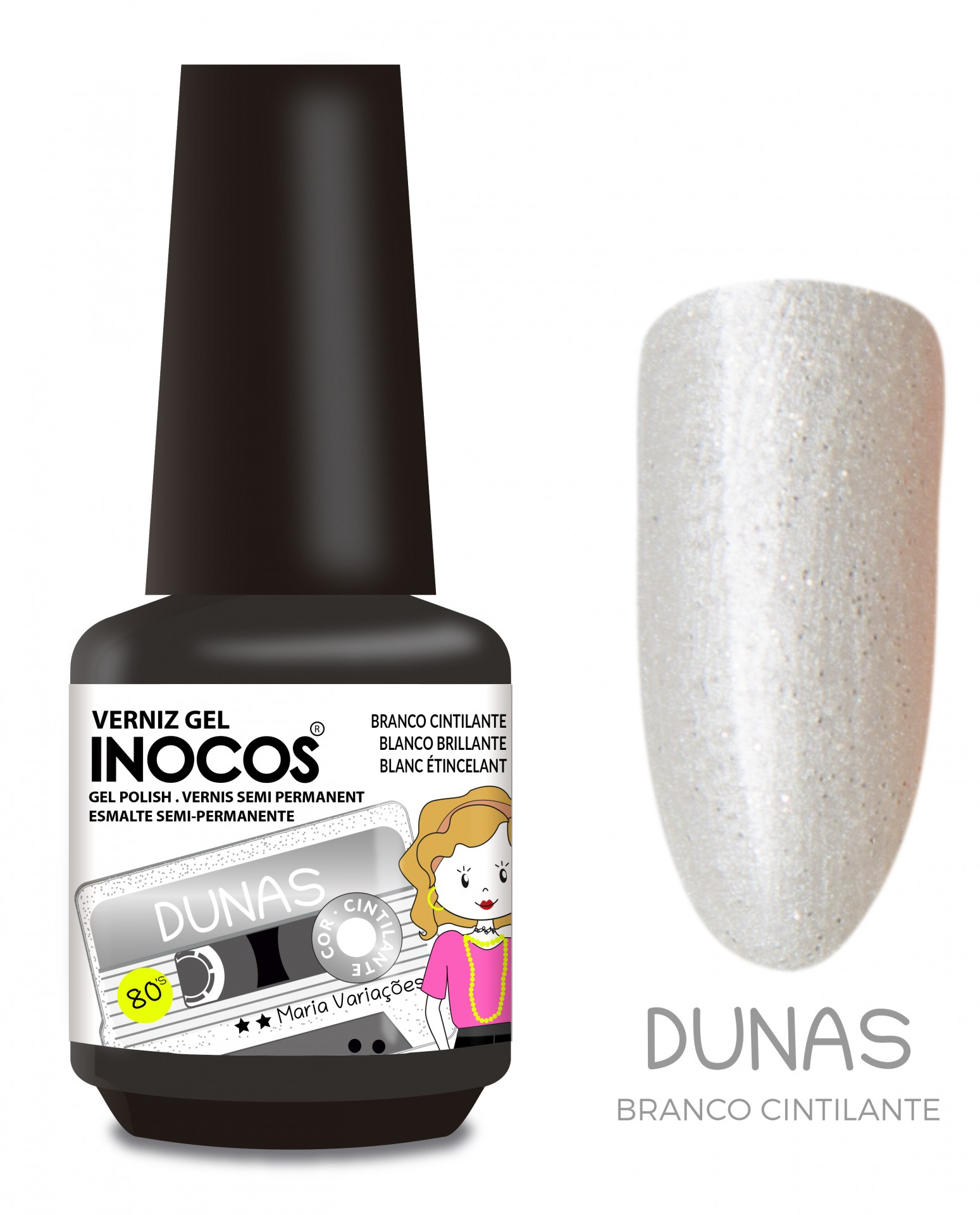 Verniz Gel Inocos - Dunas (153)