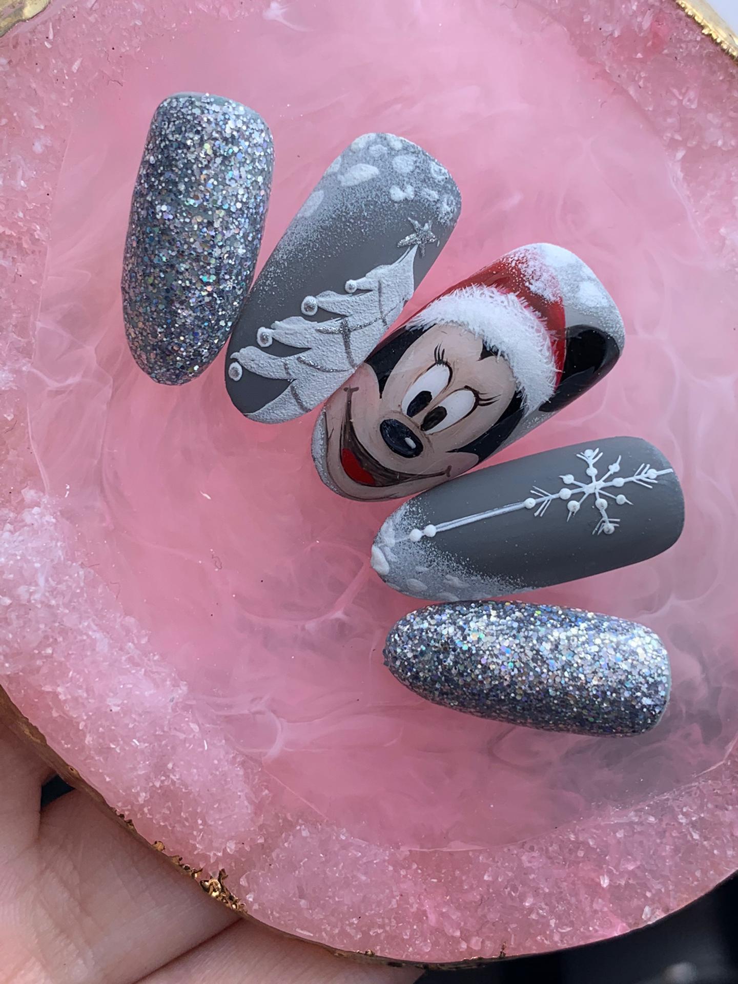 """Workshop Nail Art """"Natal e Ano Novo"""""""
