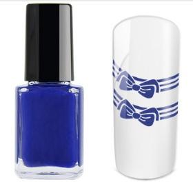 Tinta para carimbo Azul