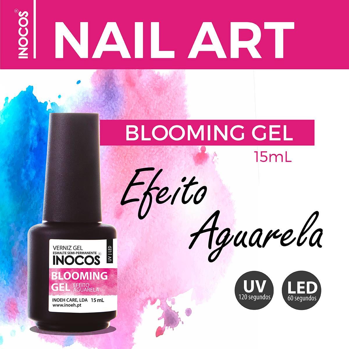 Blooming Gel Inocos - Efeito Aguarela