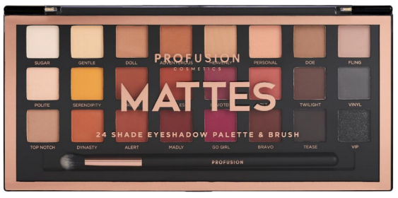 "PROFUSION - Artistry Palette ""Mattes"""