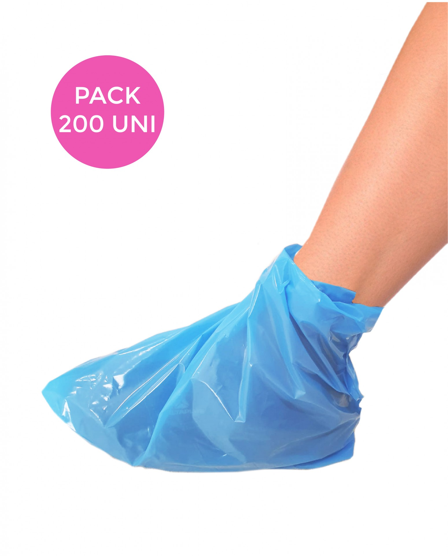 Cobre sapatos descartáveis - 200 unidades