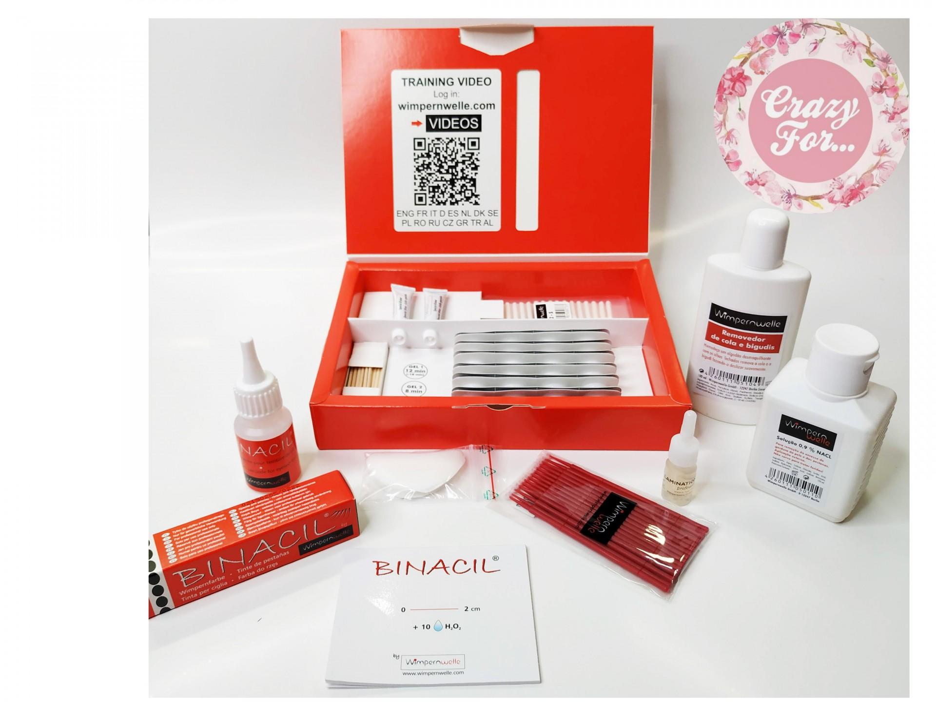 Mega Kit Permanente de Pestanas + Pintura + Botox