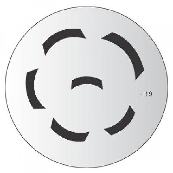 Placa Konad M019