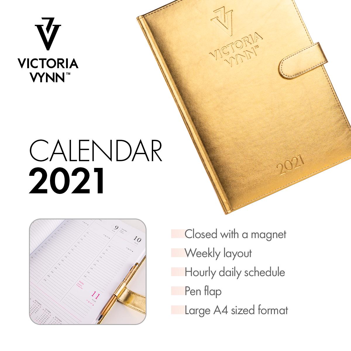 Agenda Victoria Vynn 2021 - Pré-reserva