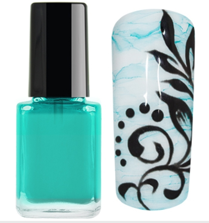 Nail Ink Crazy For... Turquesa