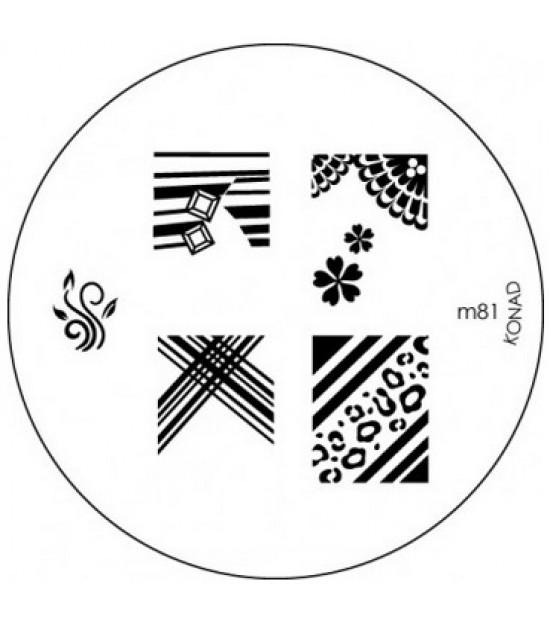 Placa Konad M081