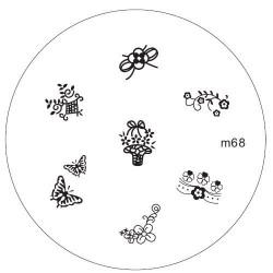 Placa Konad M068