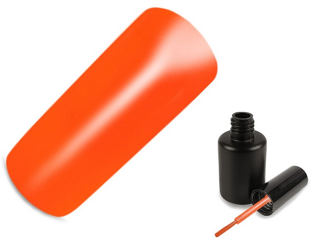 Verniz Gel V004 - Neon Orange
