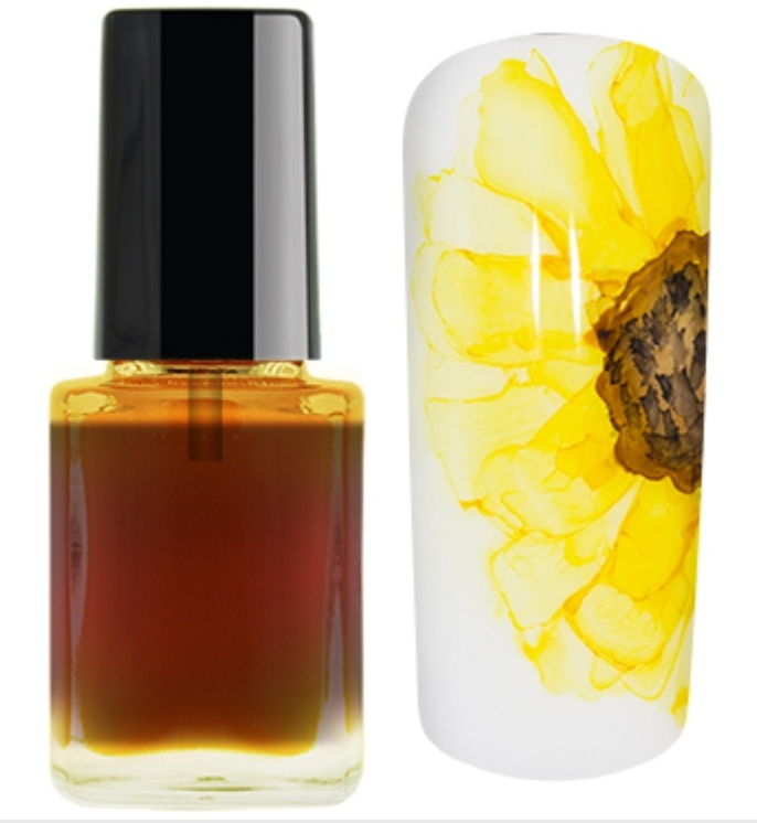 Nail Ink Crazy For... Amarelo