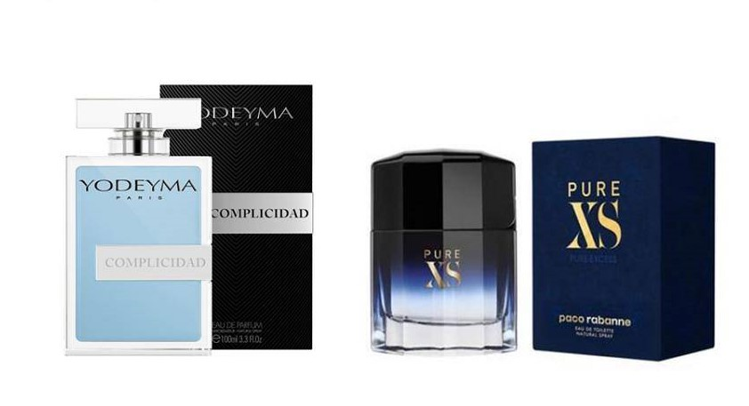 Perfume Complicidad (equiv. Pure XS - Paco Rabanne)