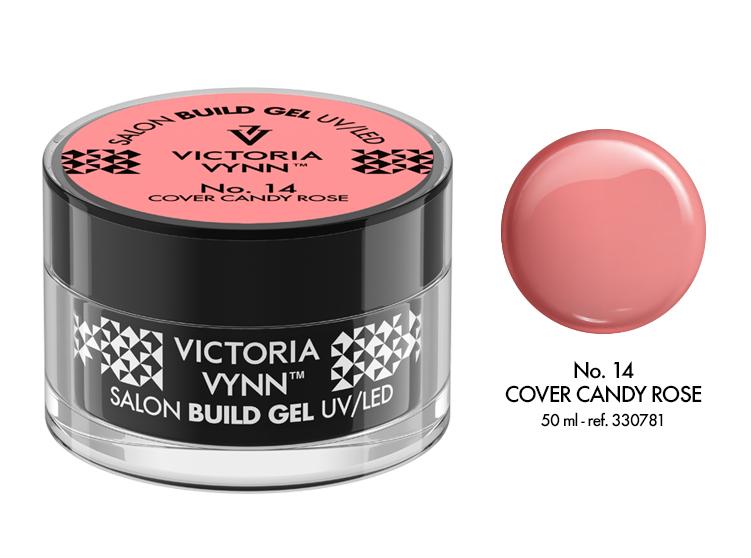 Gel de Construção Victoria Vynn n.º14 - Cover Candy Rose