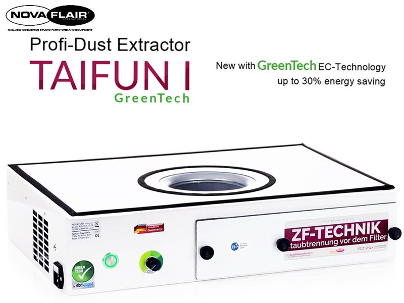 Aspirador profissional Nova Flair Taifun 1 GreenTech