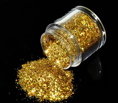 Glitter Mix Ouro 10gr