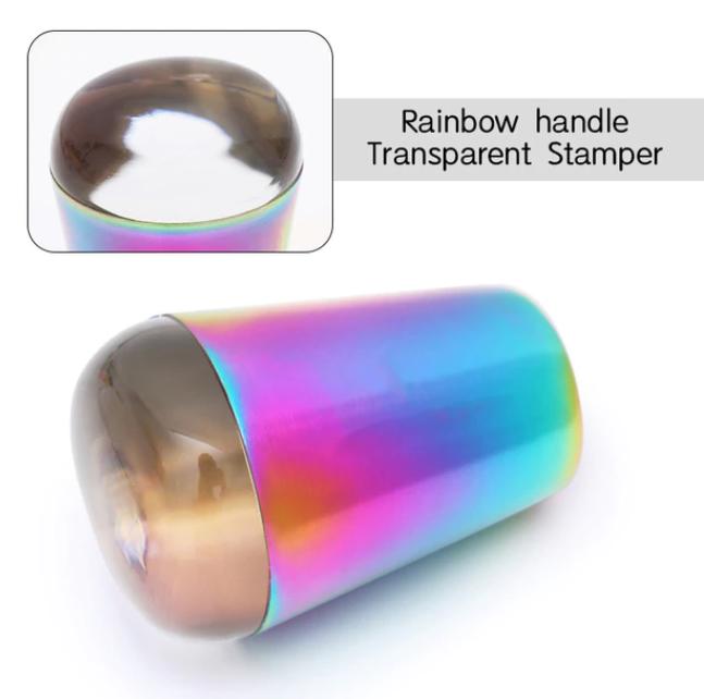 Carimbo Transparente Multicolor