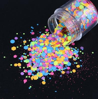 Confettis Hexagon Neon 10ml