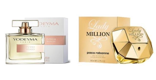 Perfume Power Woman (equiv. Lady Million - Paco Rabanne)