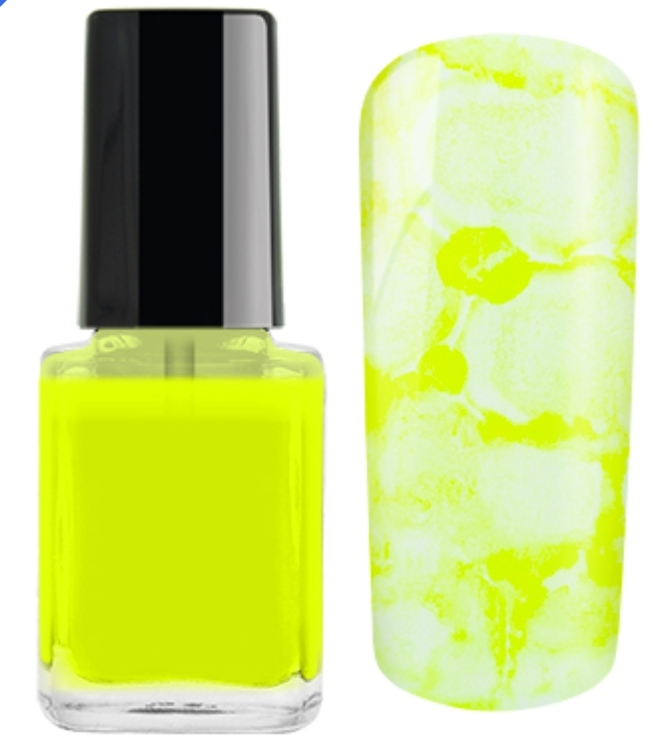 Nail Ink Crazy For... Amarelo Neon