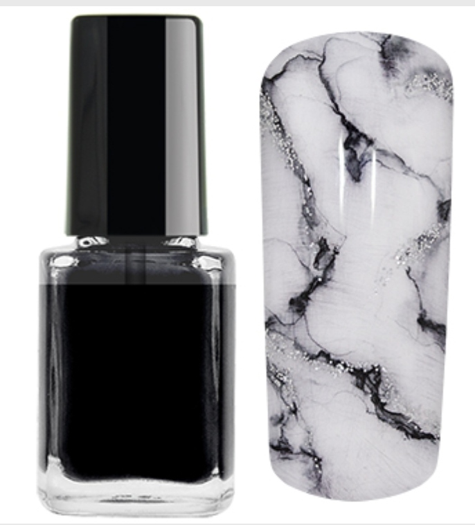Nail Ink Crazy For... Preto