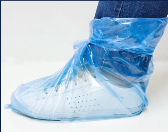 Cobre sapatos descartáveis - 100 pares