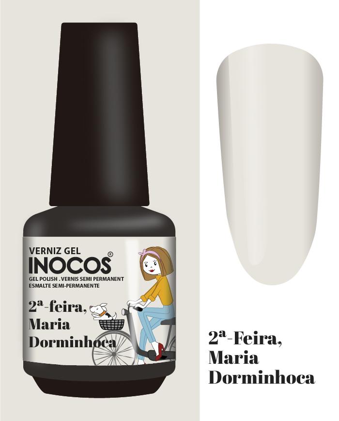 Verniz Gel Inocos - 2ª Feira - Maria Dorminhoca (161)