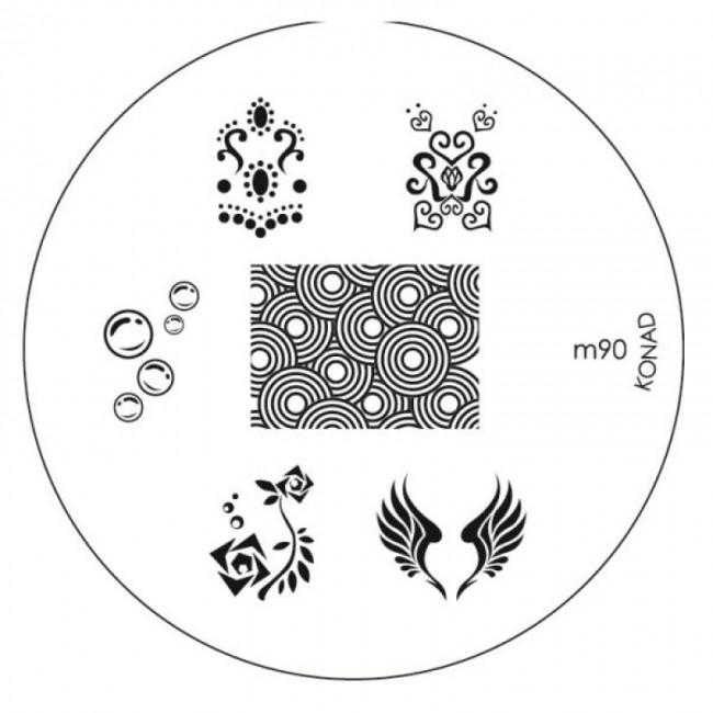 Placa Konad M090