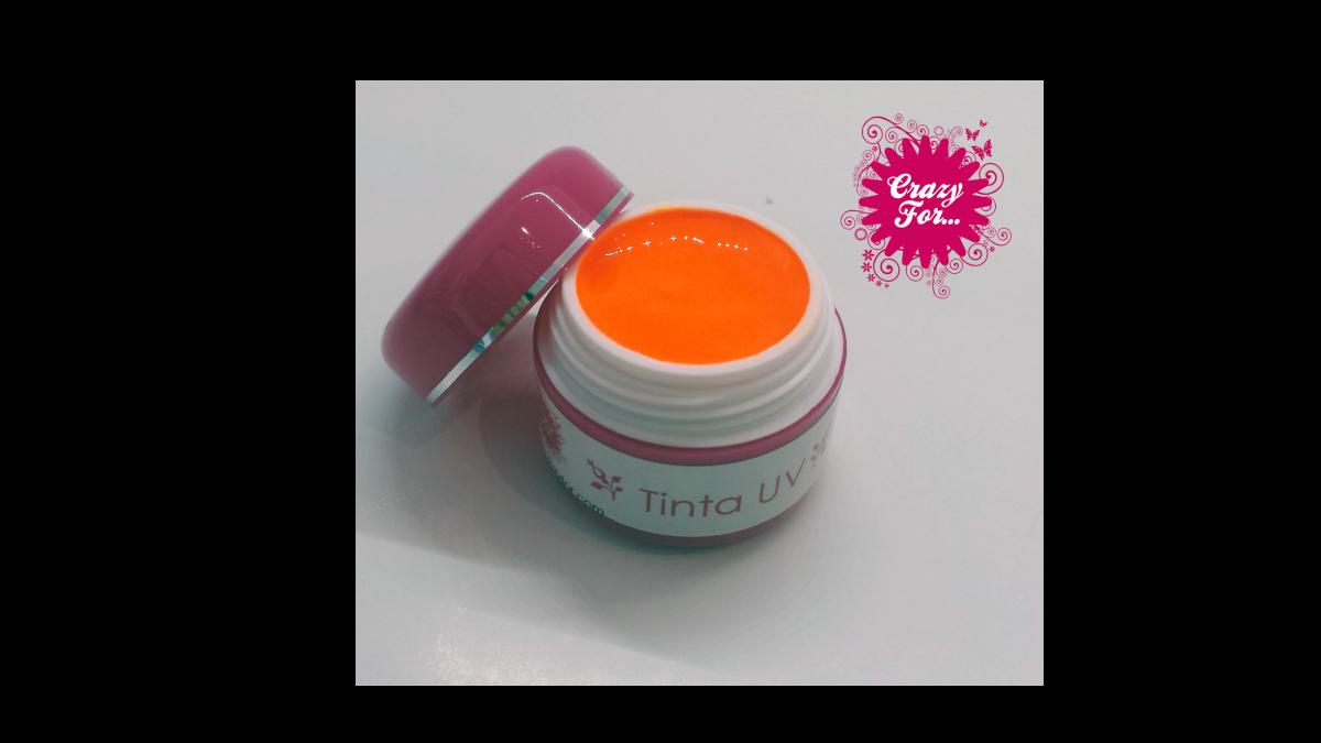 Tinta UV nº11 - Laranja Neon