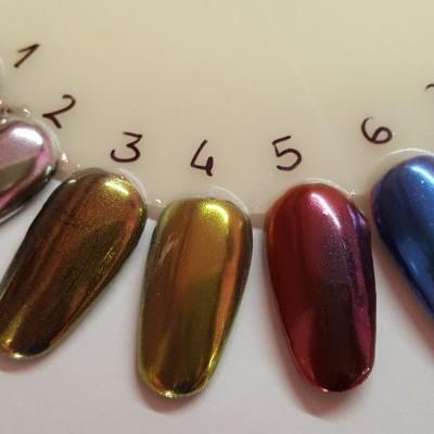 Pigmento efeito Espelho (Mirror-Chrome)