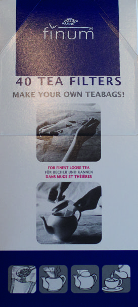 Filtro de Bule para chá – 40 Unidades