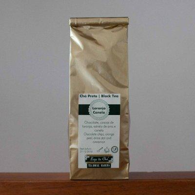 Chá Preto Laranja Canela