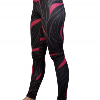 Leggings Pink and black