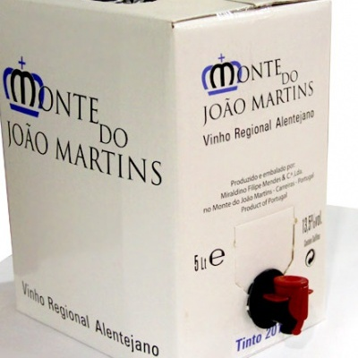 Vinho Monte do João Martins - Tinto 2018 - 5lts.