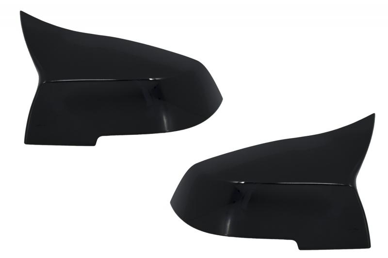 Capas Espelhos BMW 1/2/3/4 Serie F20 F21 F22 F23 F30 F31 F32 F33 F36 Preto Brilhante