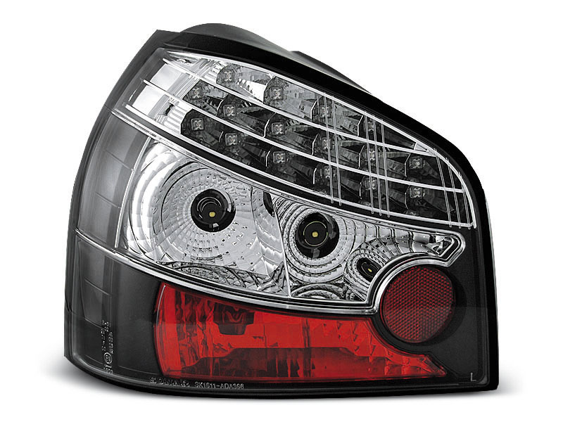 AUDI A3 08.96-08.00 Farolins BLACK LED