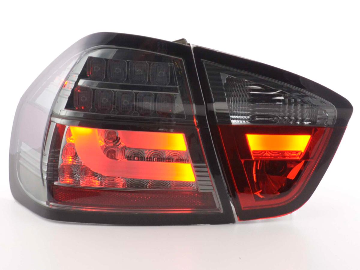 BMW E90 Farolins LED Fumado