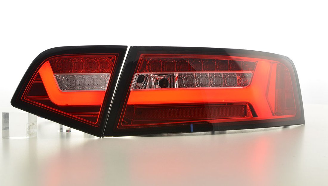 Audi A6 2008-2011 Farolins Cristal LED BAR