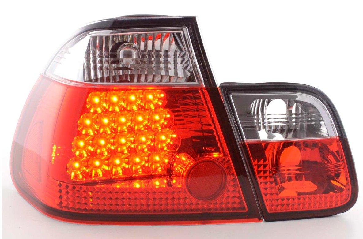 BMW E46  2001-2005 Farolins Cristal LED