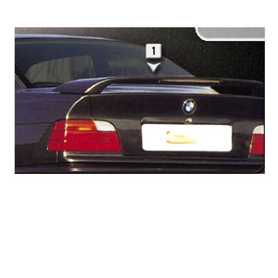 Aileron BMW E36 2 portas